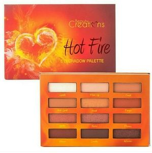 Hot Fire Eyeshadow Palette by Beauty Creations